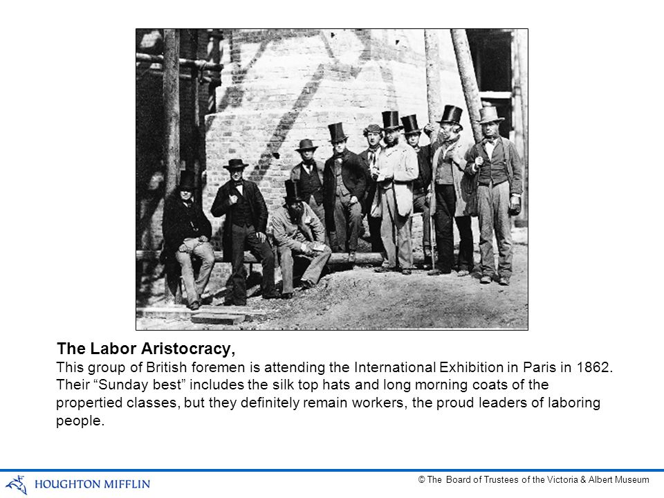 The Labor Aristocracy,