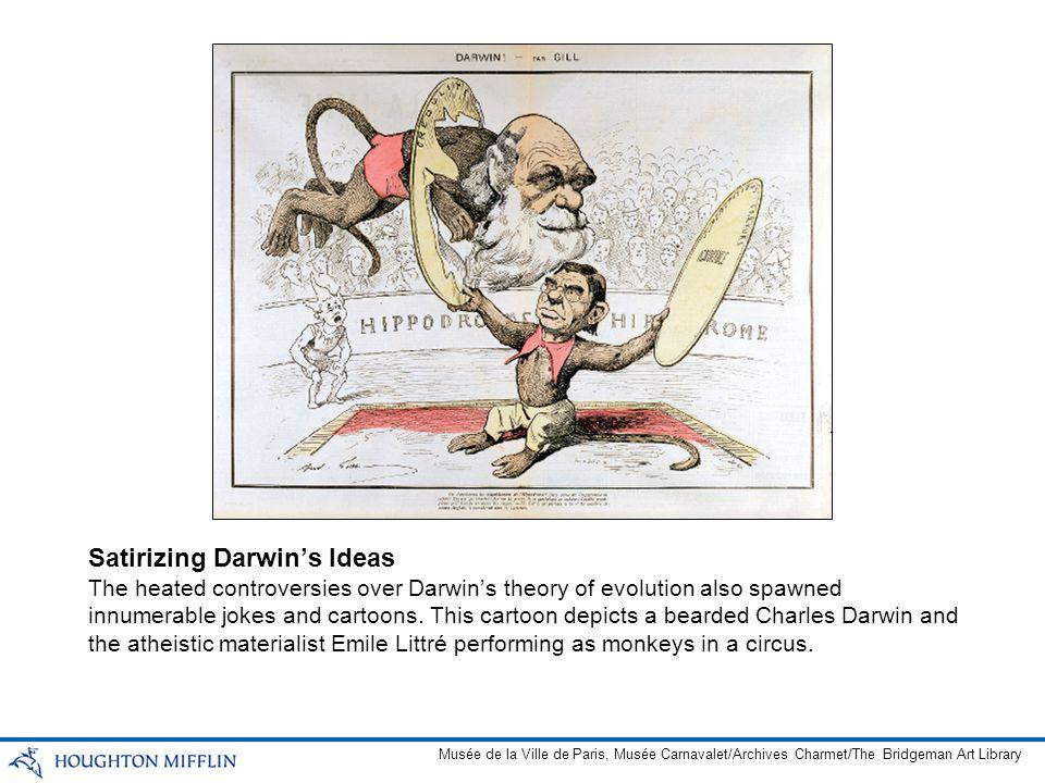Satirizing Darwin's Ideas