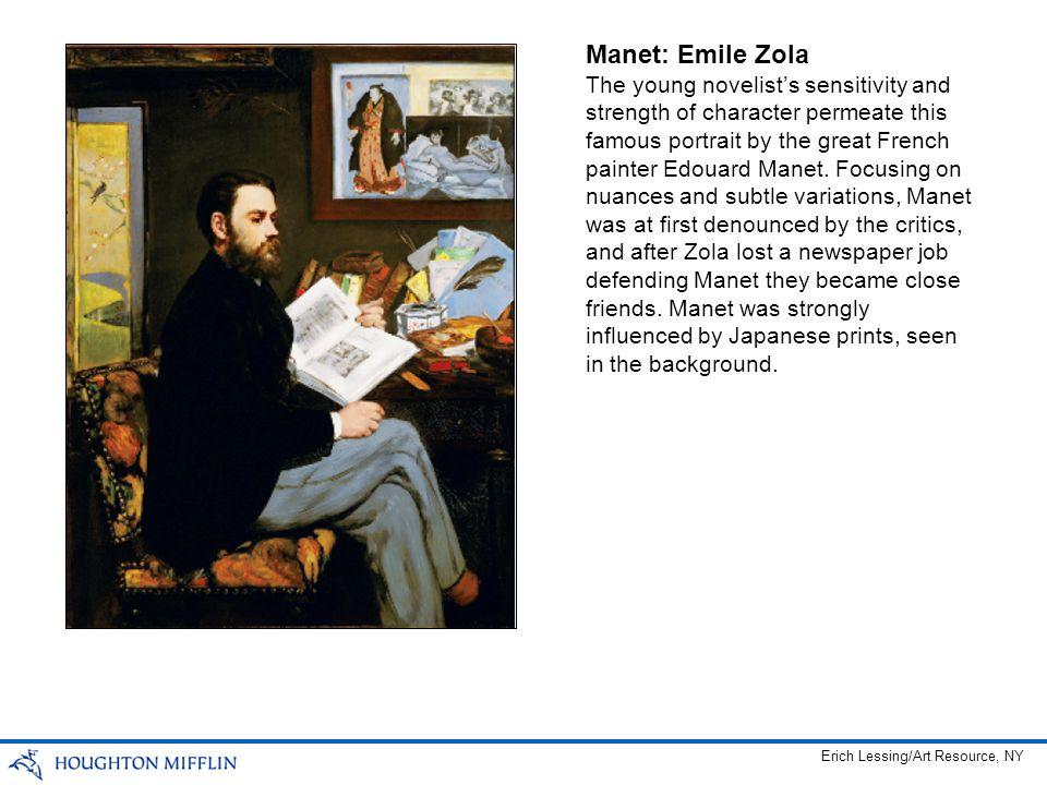 Manet: Emile Zola