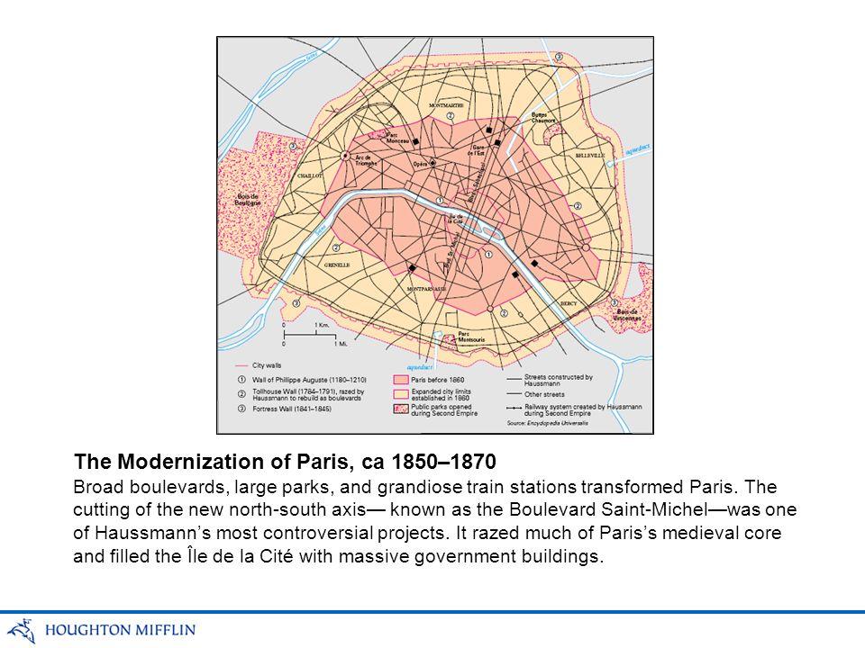 The Modernization of Paris, ca 1850–1870