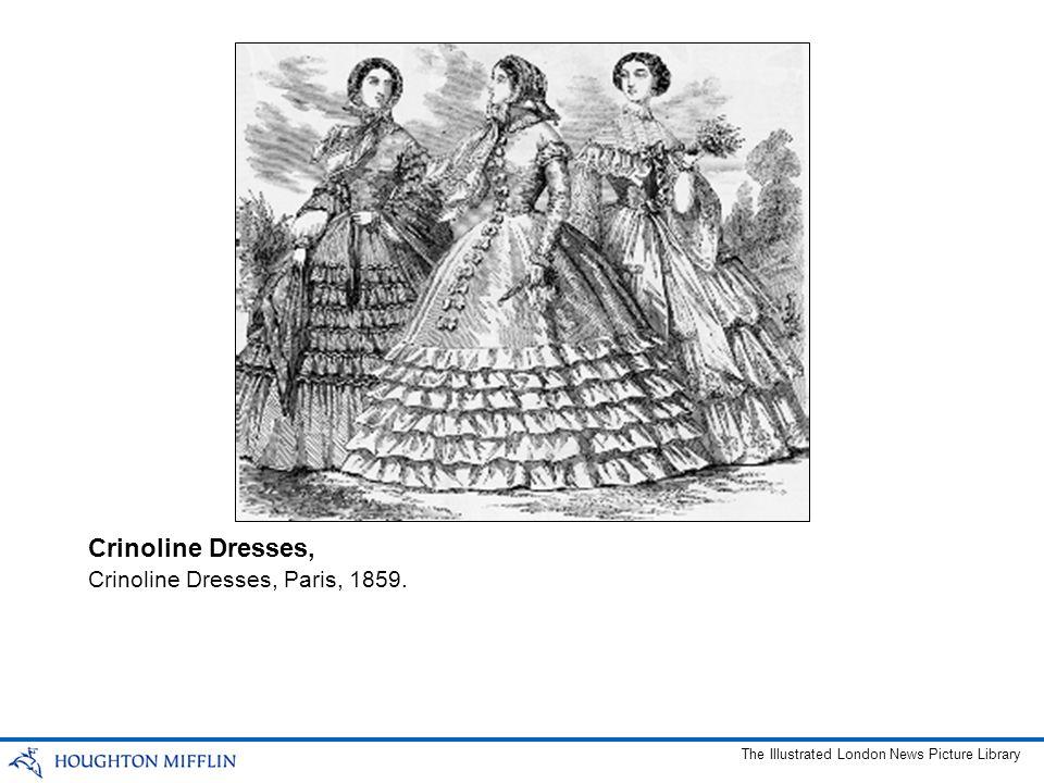 Crinoline Dresses, Crinoline Dresses, Paris, 1859.
