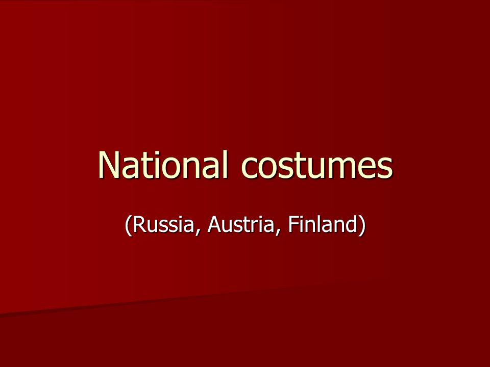 (Russia, Austria, Finland)