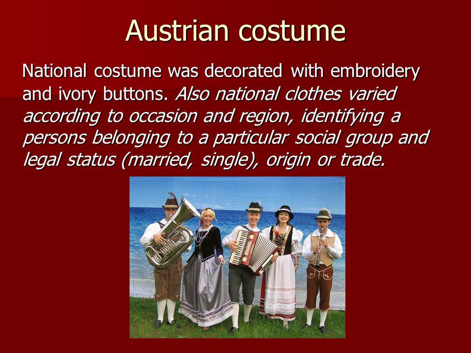 Austrian costume