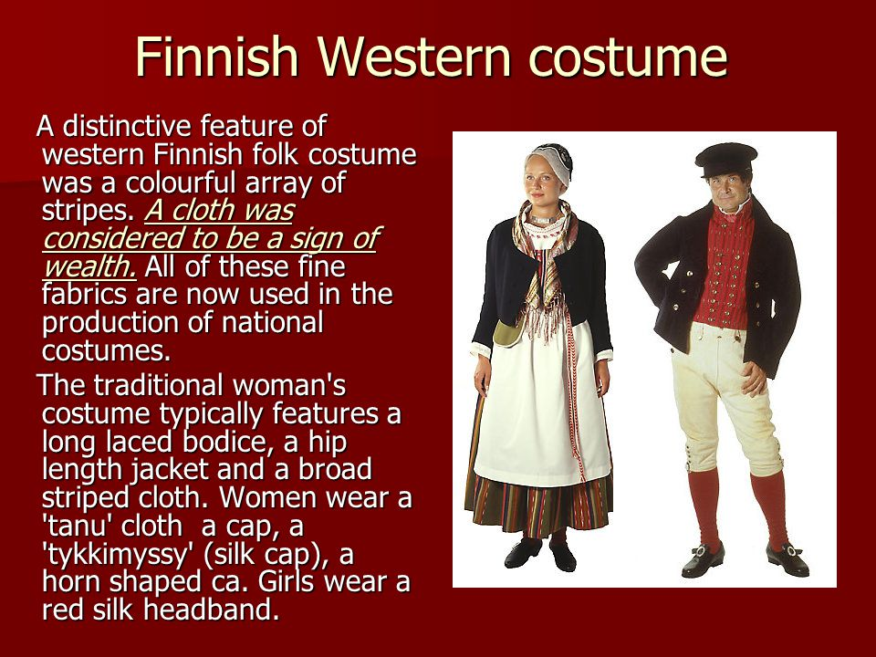 Finnish Western costume