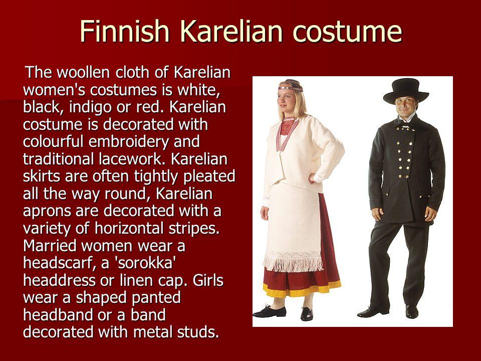 Finnish Karelian costume