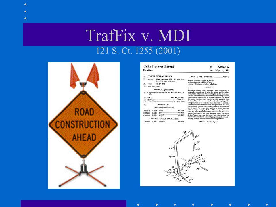 TrafFix v. MDI 121 S. Ct. 1255 (2001)