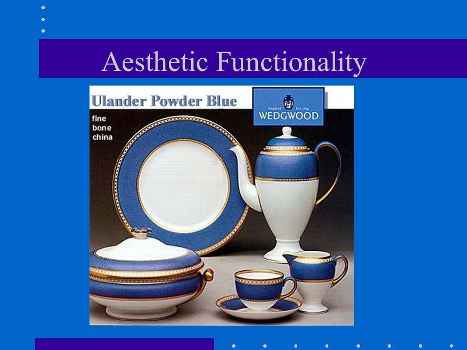 Aesthetic Functionality