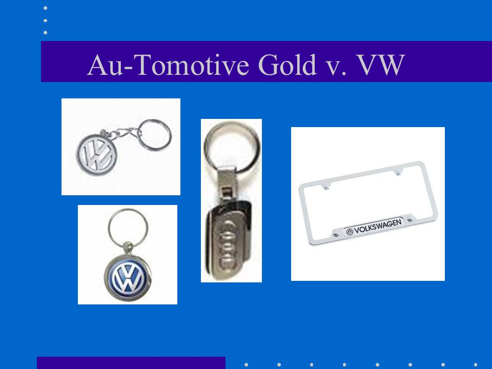 Au-Tomotive Gold v. VW