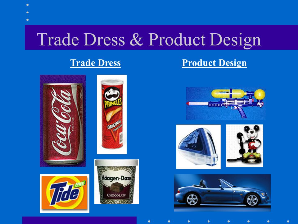 Trade Dress & Product Design