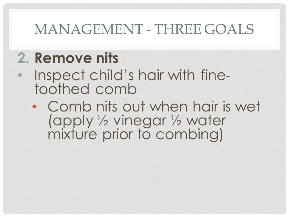 Management - three goals