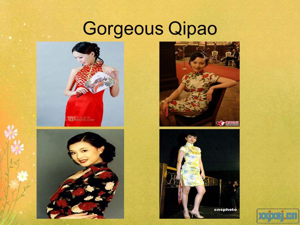 Gorgeous Qipao
