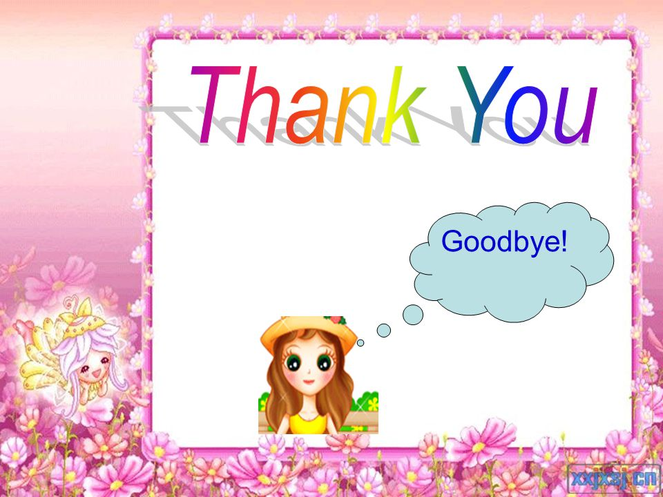 Thank You Goodbye!