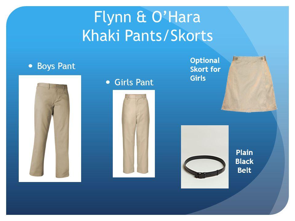 Flynn & O'Hara Khaki Pants/Skorts