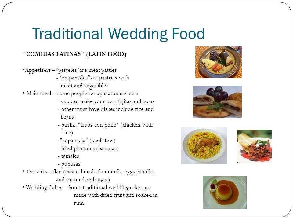 Traditional Wedding Food