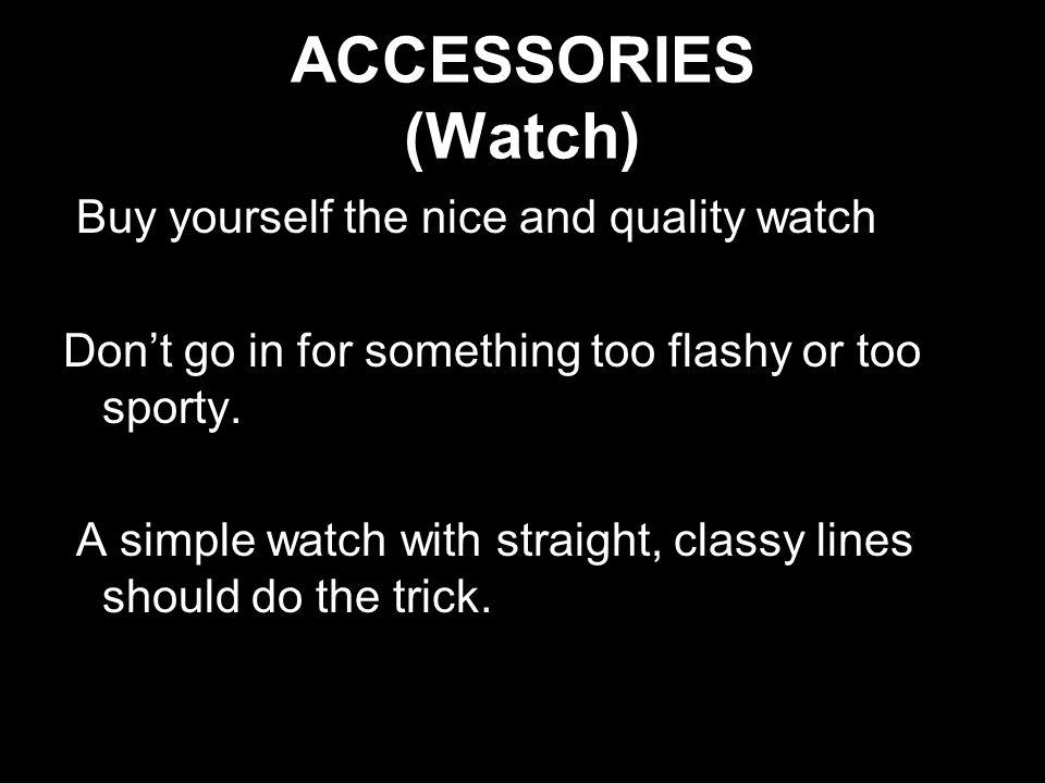ACCESSORIES (Watch)