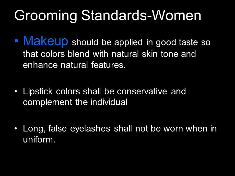 Grooming Standards-Women