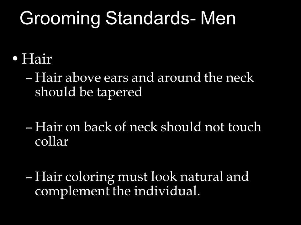 Grooming Standards- Men