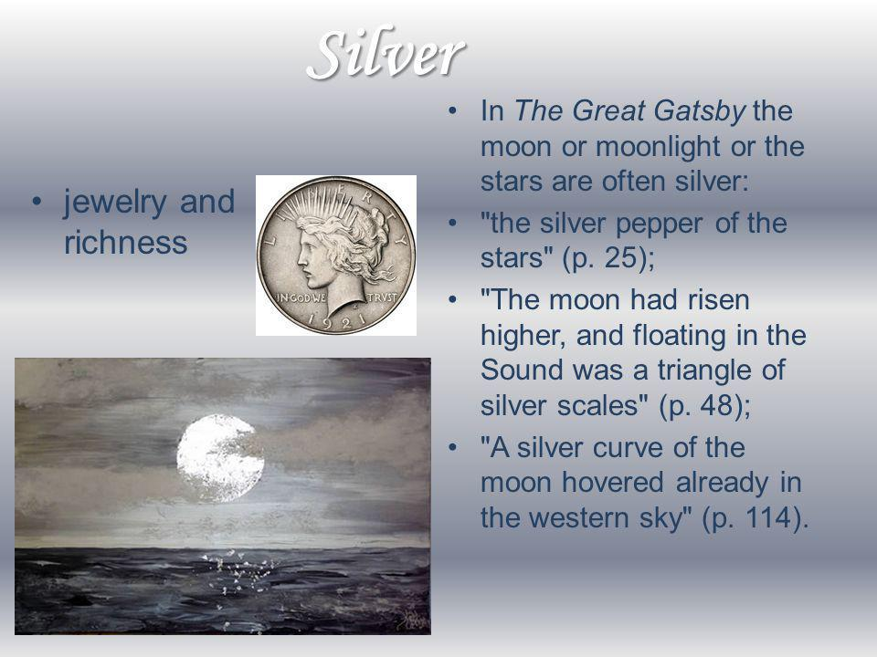 Silver jewelry and richness
