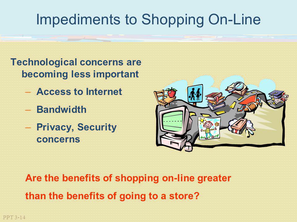 Impediments to Shopping On-Line