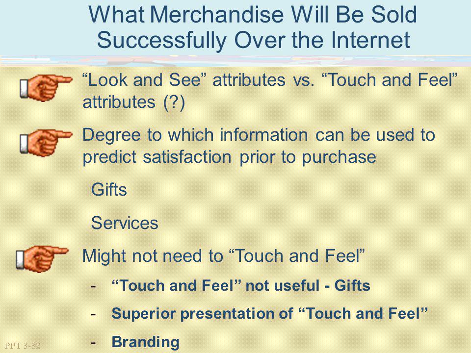 What Merchandise Will Be Sold Successfully Over the Internet