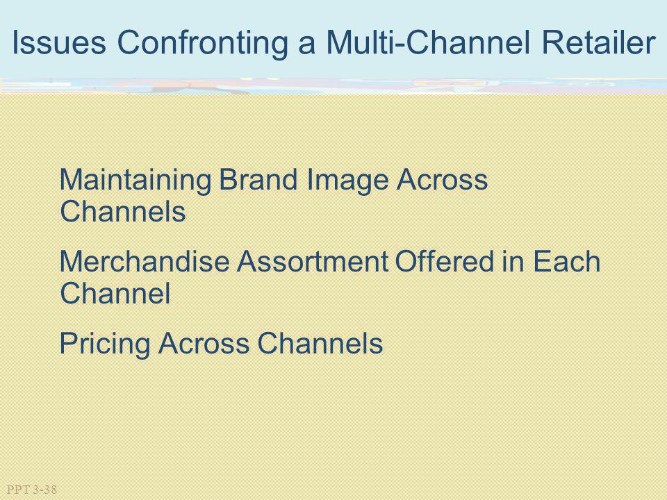 Issues Confronting a Multi-Channel Retailer
