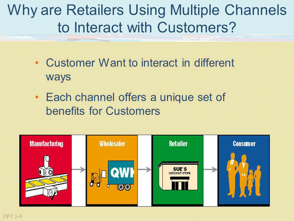 Why are Retailers Using Multiple Channels to Interact with Customers