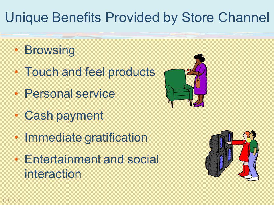 Unique Benefits Provided by Store Channel