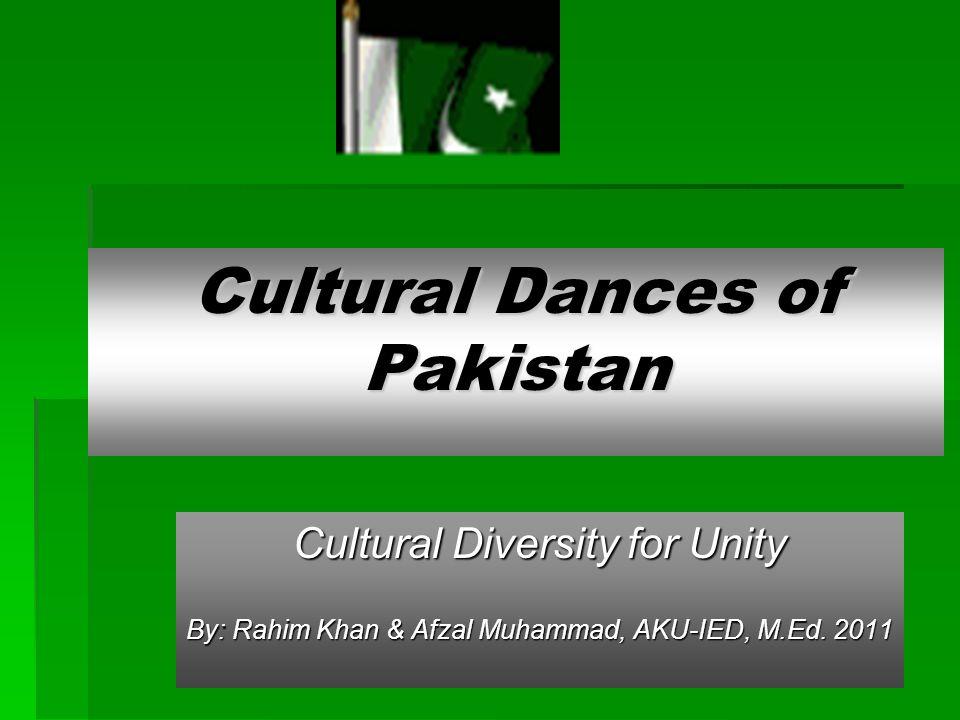 Cultural Dances of Pakistan