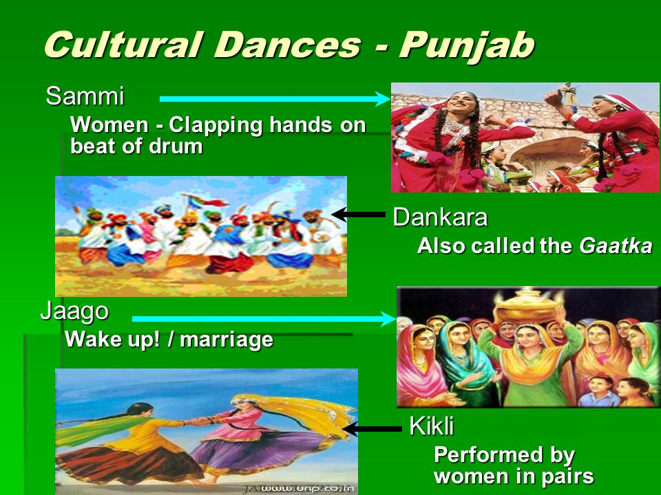 Cultural Dances - Punjab