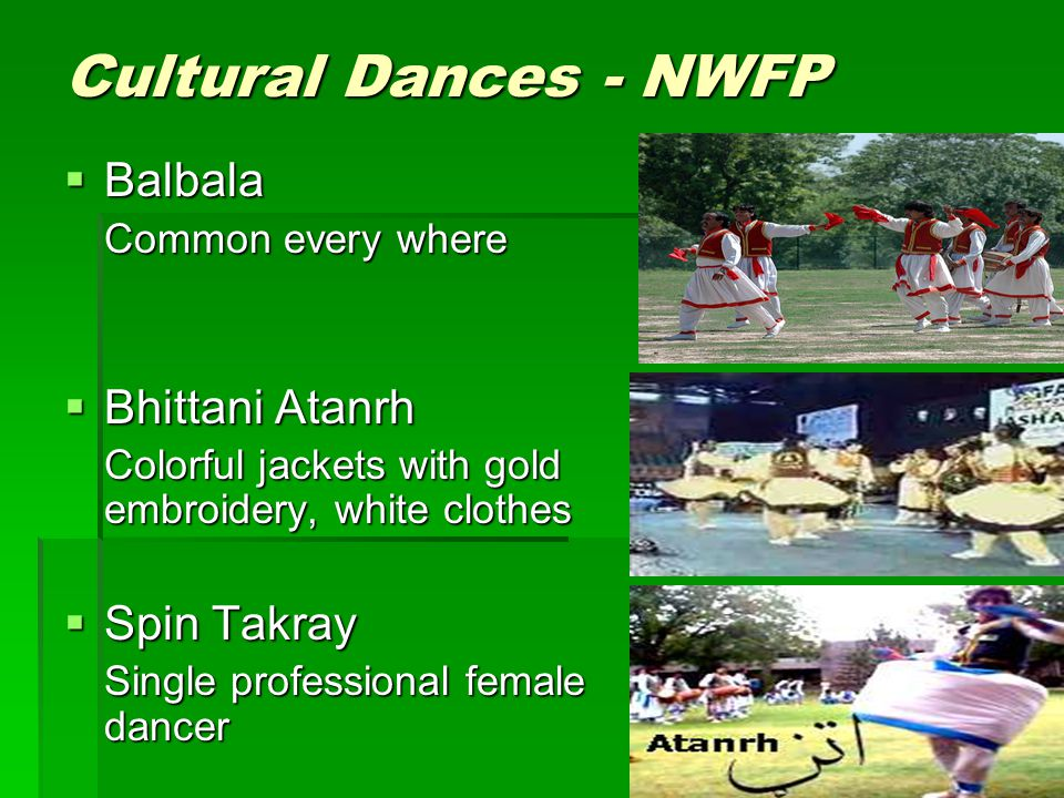Cultural Dances - NWFP Balbala Bhittani Atanrh Spin Takray