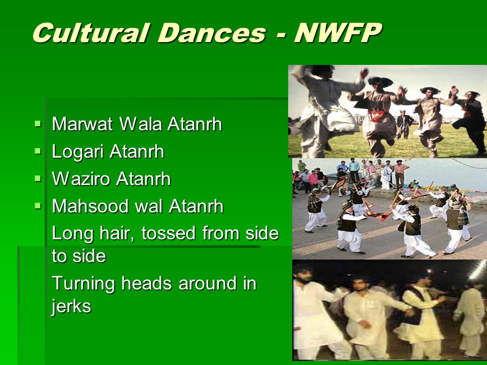 Cultural Dances - NWFP Marwat Wala Atanrh Logari Atanrh Waziro Atanrh