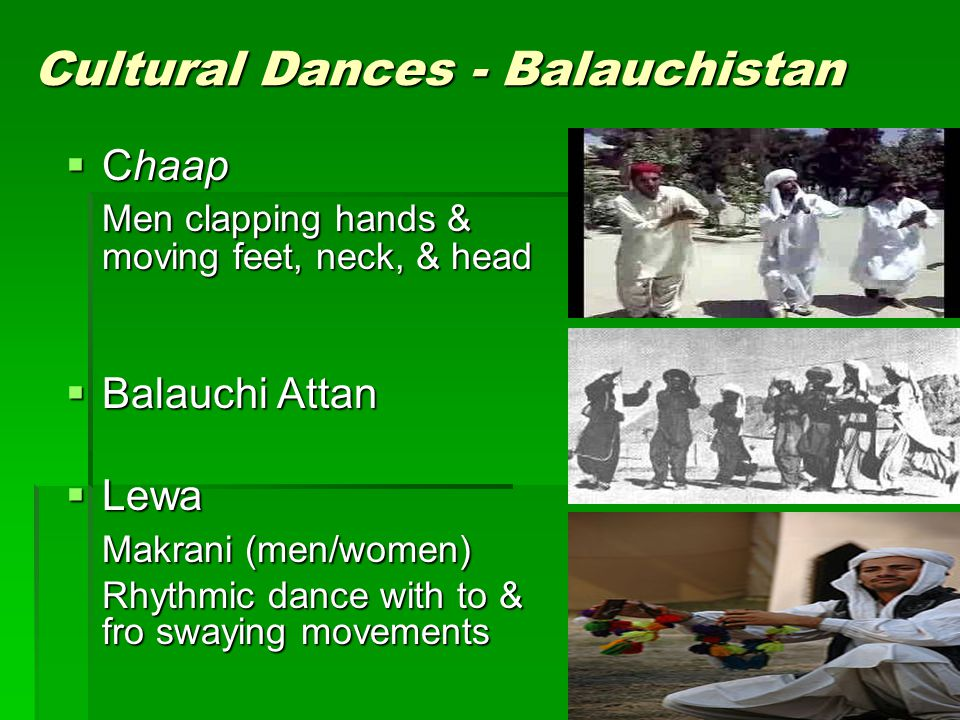 Cultural Dances - Balauchistan