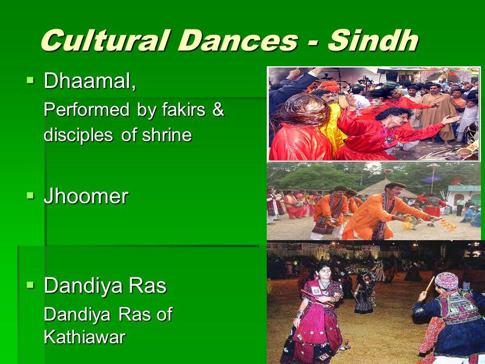 Cultural Dances - Sindh