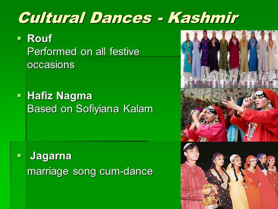 Cultural Dances - Kashmir
