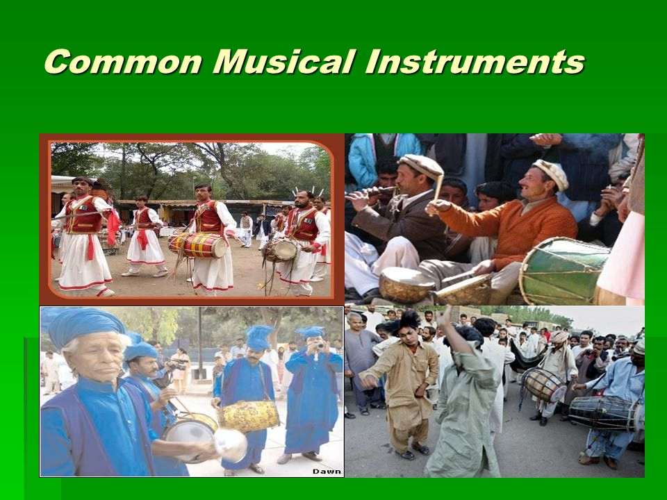 Common Musical Instruments