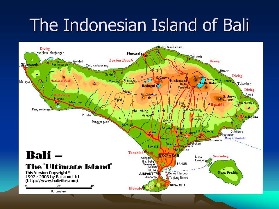 The Indonesian Island of Bali