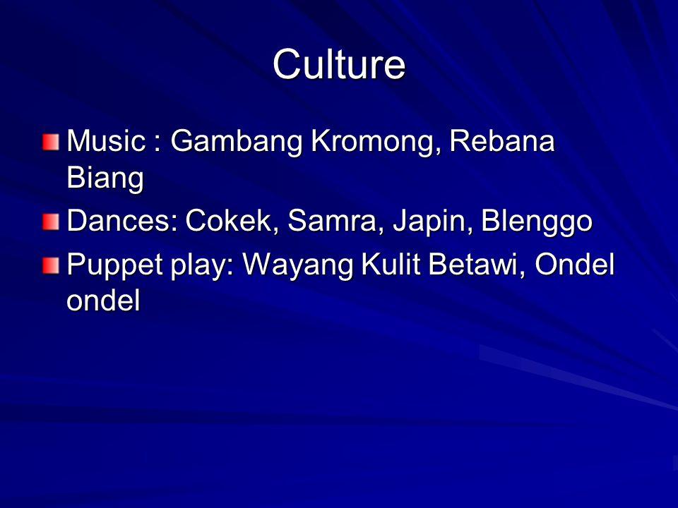 Culture Music : Gambang Kromong, Rebana Biang
