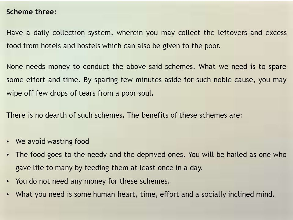 There is no dearth of such schemes. The benefits of these schemes are:
