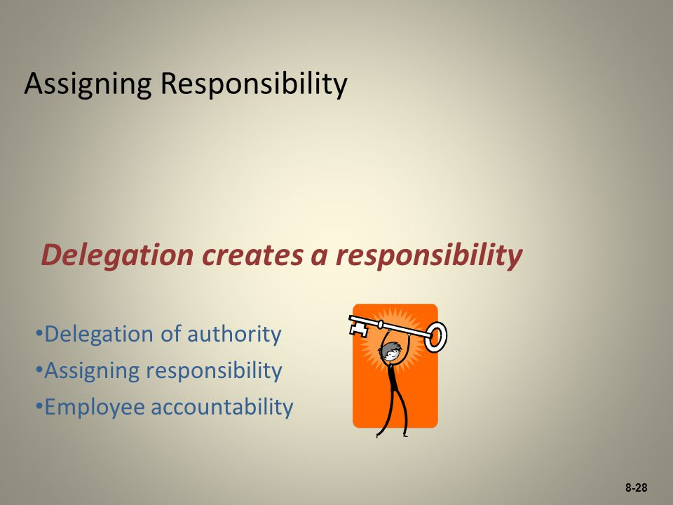 Assigning Responsibility