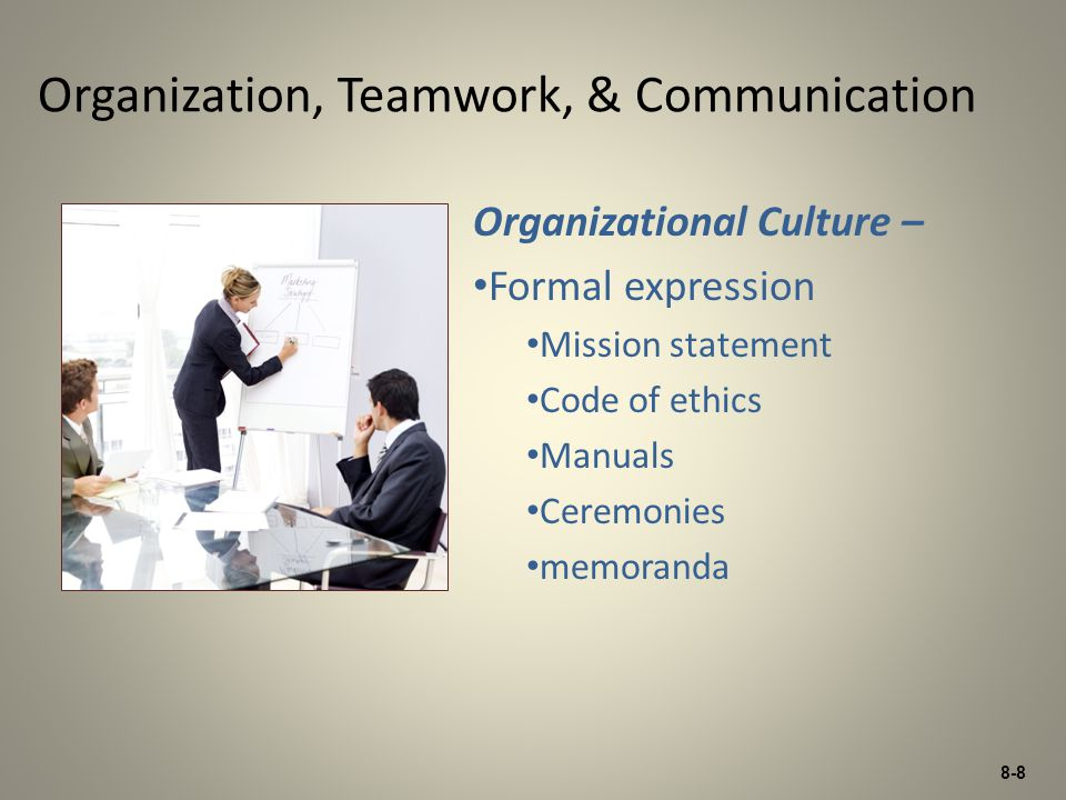 organisational culture and communication pdf