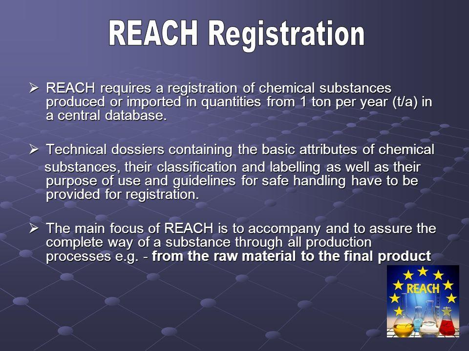 REACH Registration