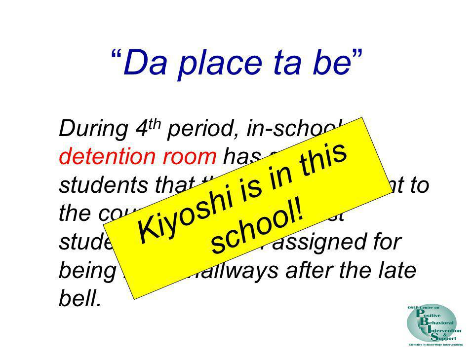 Kiyoshi is in this school!