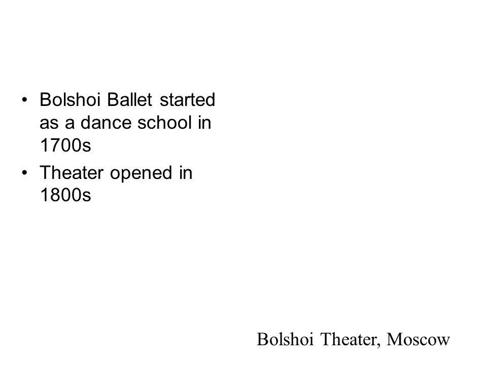 Bolshoi Theater, Moscow