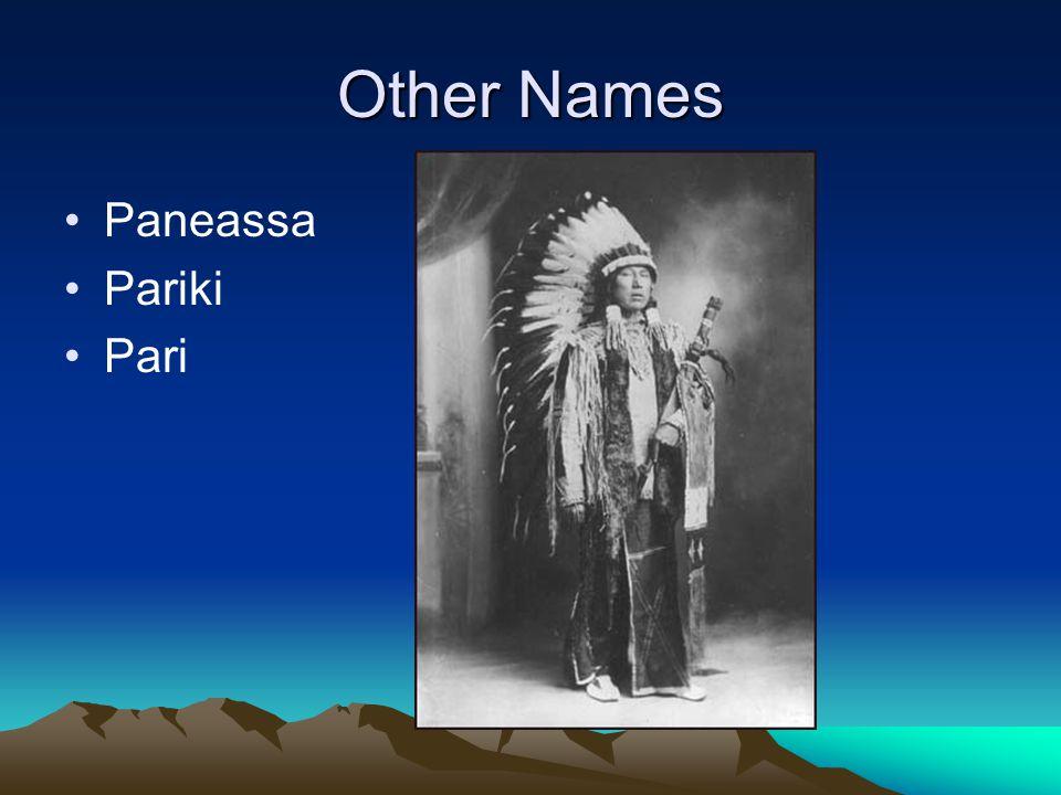 Other Names Paneassa Pariki Pari