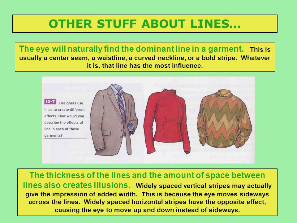 OTHER STUFF ABOUT LINES…