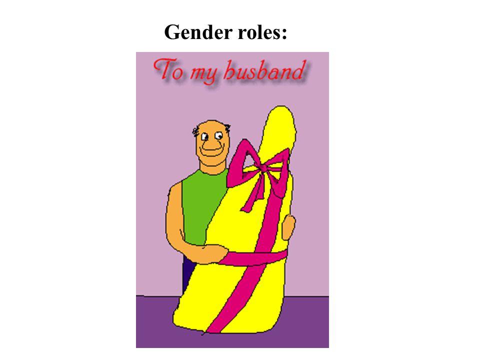 Gender roles: