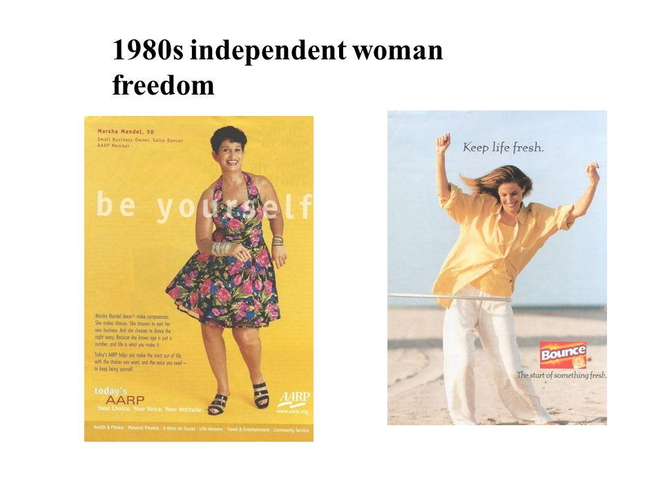 1980s independent woman freedom