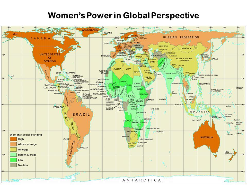 Women's Power in Global Perspective