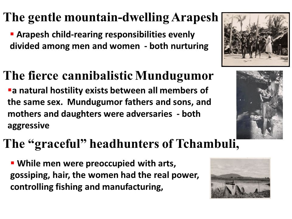 The gentle mountain-dwelling Arapesh