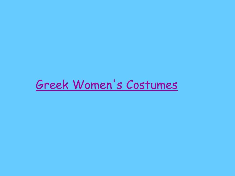 Greek Women s Costumes